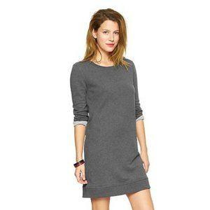GAP Gray Sweatshirt Dress, Fleece Sweater Dress